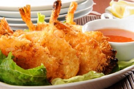Beer Battered Coconut Shrimp Recipe...