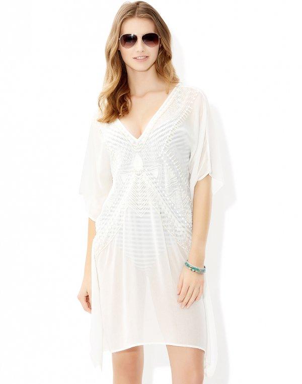 Cherie Embellished Kaftan Dress