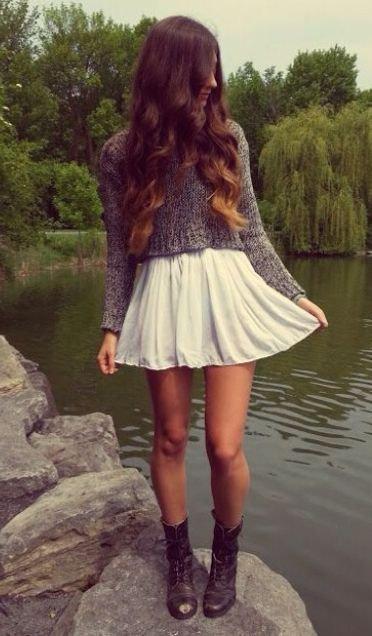 Sweet Skater Skirt