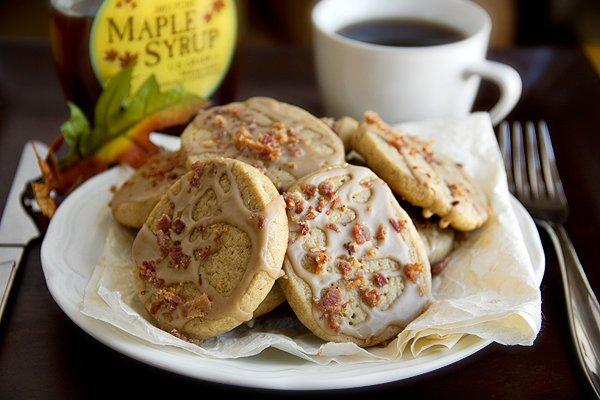Pancakes 'n' Bacon Cookies