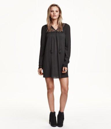 Dark Gray a-Line Dress