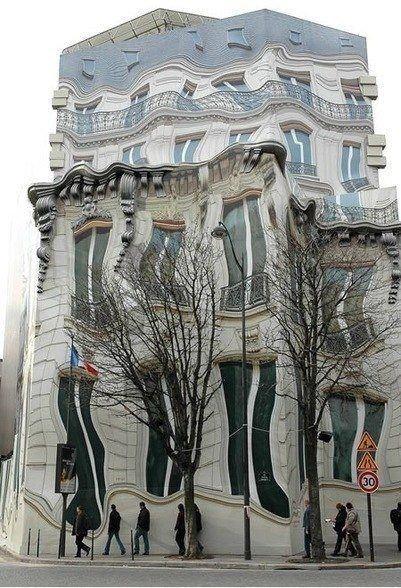 The HAUSSMANNIAN Building, Paris, France
