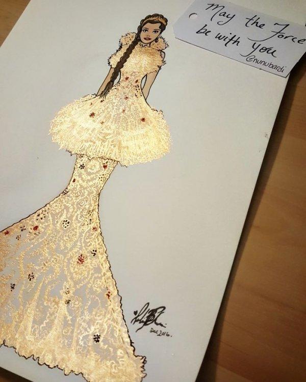 art, pattern, dress, design, sketch,