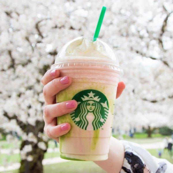 Starbucks, meal, skin, produce, lip,