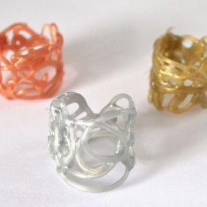 Hot Glue Rings