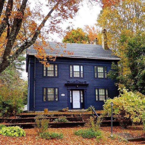 home, house, property, cottage, leaf,
