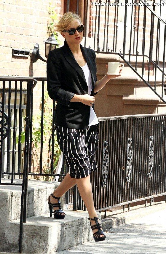 Kate Hudson in Stripes