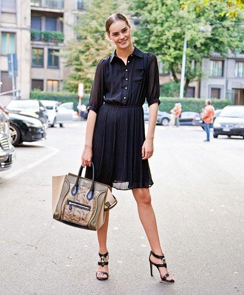 clothing, footwear, fashion model, dress, shoe,