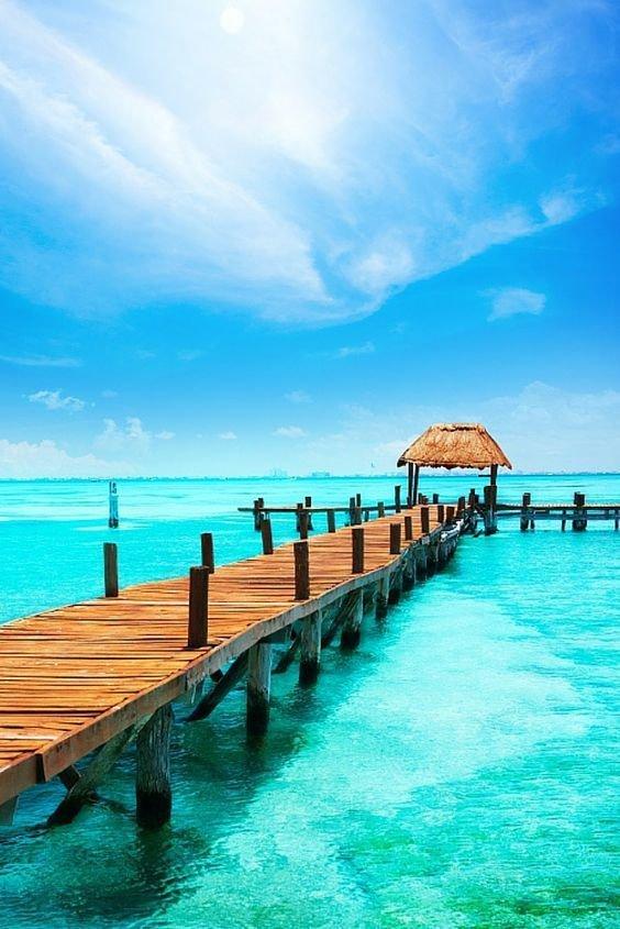 sea, ocean, sky, pier, coastal and oceanic landforms,