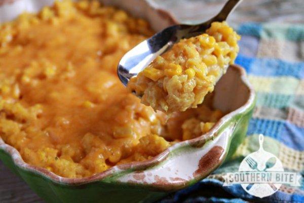 Cheesy Corn and Rice Casserole