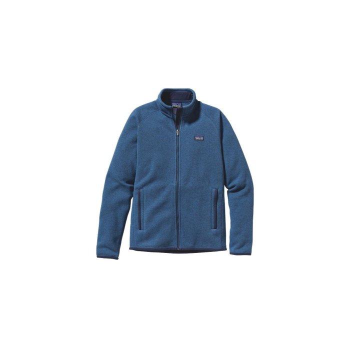 Patagonia Better Sweater Full Zip Mens Jacket, Glass Blue