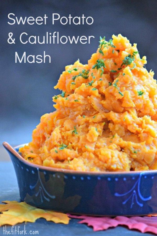 Sweet Potato & Cauliflower Mash