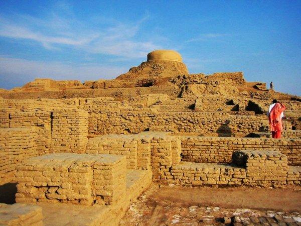 Mohenjo-Daro in Pakistan