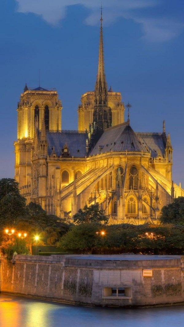 Notre Dame de Paris,landmark,building,cathedral,place of worship,