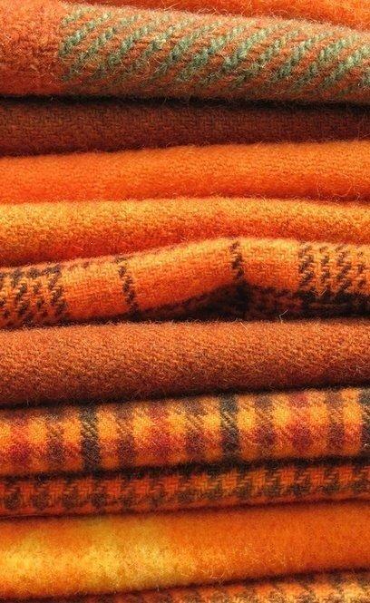 Orange Blankets