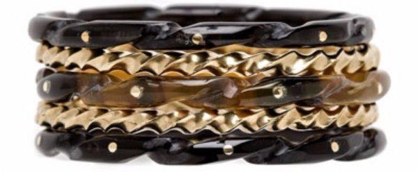 Horn Stacking Bracelets