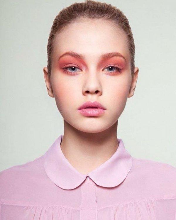 face, eyebrow, hair, cheek, pink,