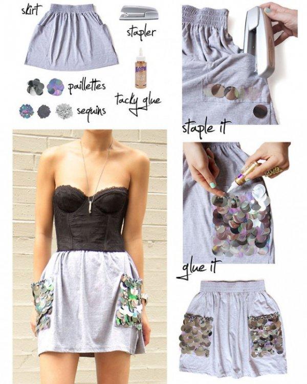 Skirt Makeover