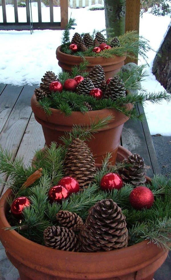 Pine Porch Pots