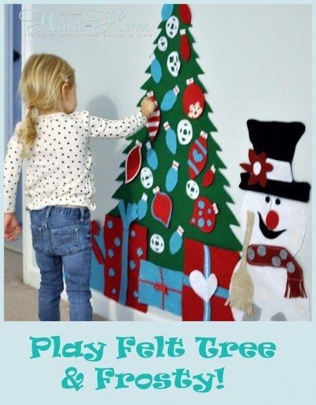 Play Felt Christmas Tree