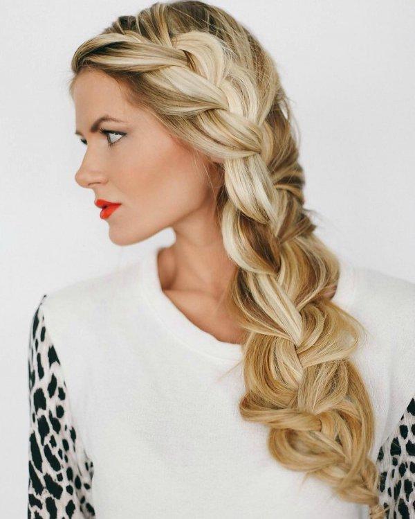 hair, hairstyle, blond, long hair, braid,