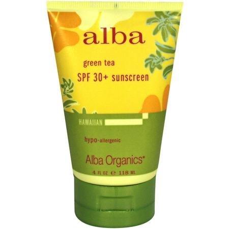 Alba Botanica Sunscreen and Lip Balm
