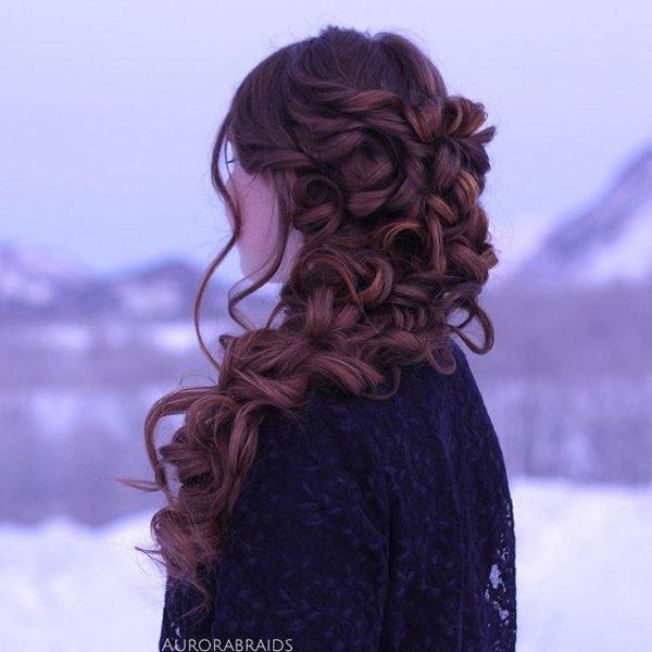 clothing, hair, hairstyle, purple, long hair,