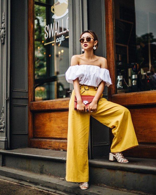 yellow, shoulder, fashion model, fashion, dress,