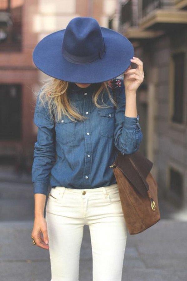 clothing,blue,hat,fedora,fashion accessory,
