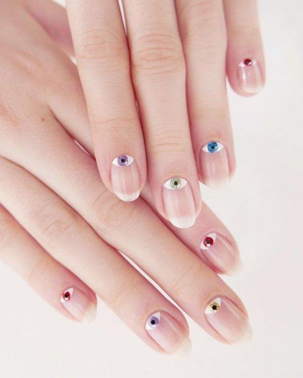 manicure, pink, nail care, nail, lilac,