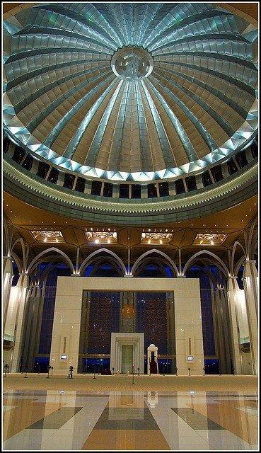 Tuanku Mizan Zainal Abidin Mosque, Putrajaya, Malaysia