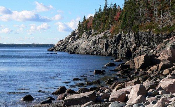 Colorful Mount Desert Island, Maine