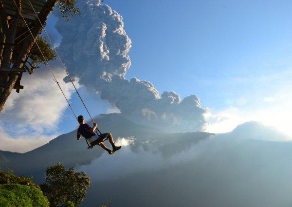 sky, mountainous landforms, mountain, cloud, mountain range,