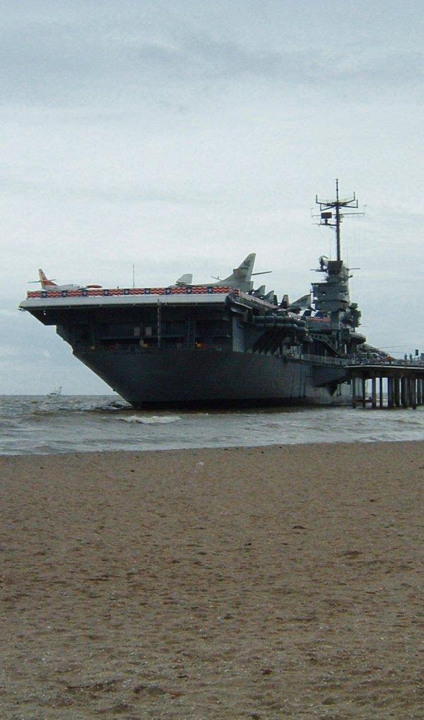 USS Lexington, Corpus Christi