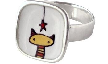 Star-Kitty Ring