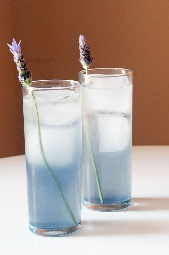 Lavender Tom Collins