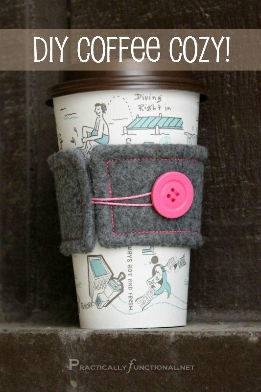 Felt Coffee Cozy