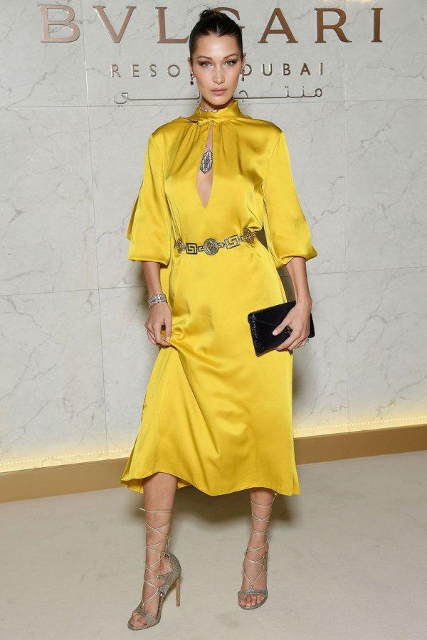 Fashion model, Fashion show, Clothing, Yellow, Fashion,