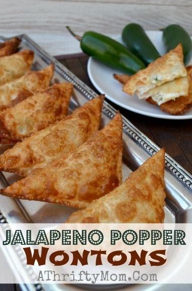 Jalapeno Popper Wontons