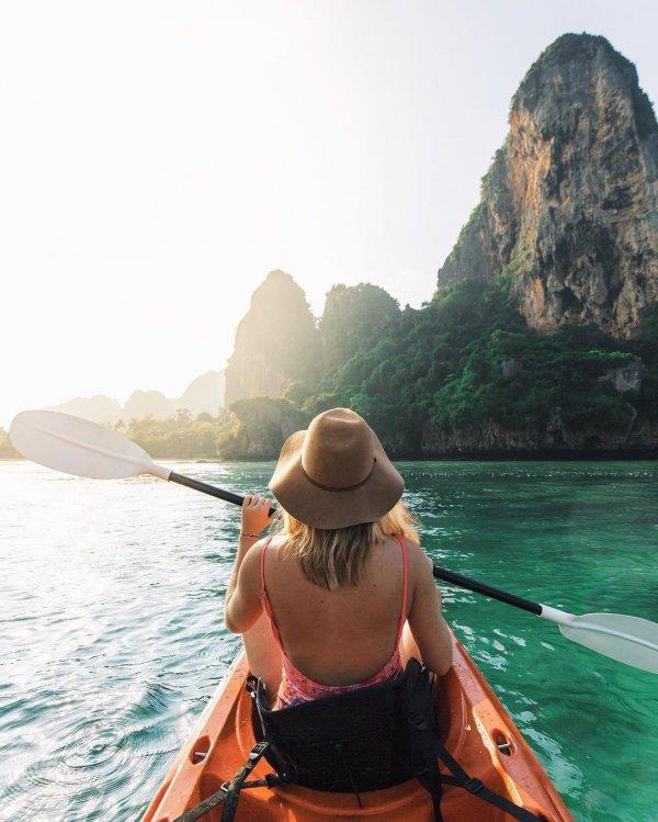 sea kayak, boat, vacation, kayak, sea,