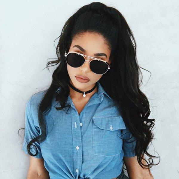 eyewear, hair, sunglasses, glasses, clothing,