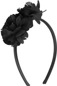 Thin Satin Floral Headband