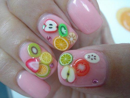 nail,finger,color,pink,green,