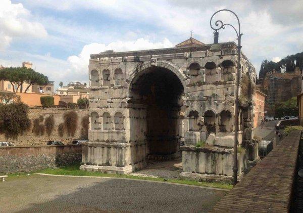 Arch of Janus, Rome, Italy
