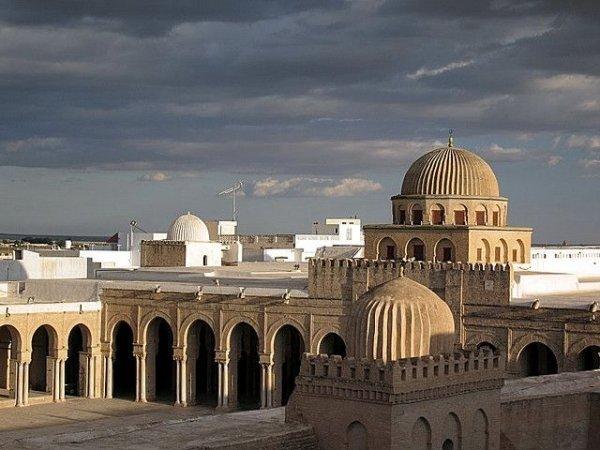 Mosque of Uqba Bin Nafe, Kairouan, Tunisia