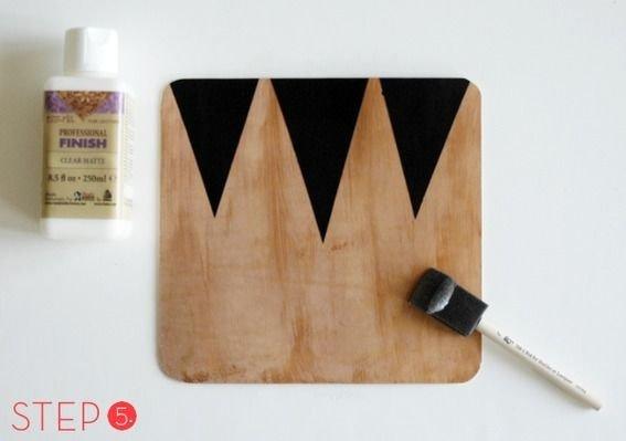Geometric Leather