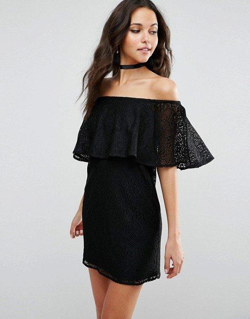 clothing, dress, little black dress, sleeve, cocktail dress,