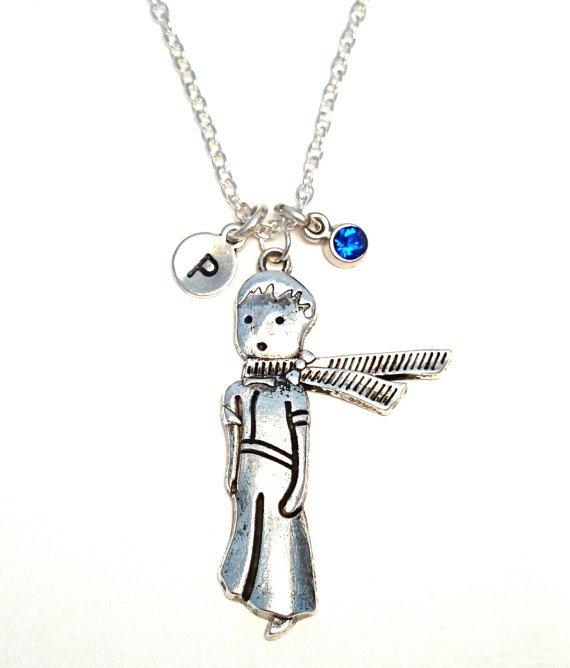 Little Prince Birthstone Necklace