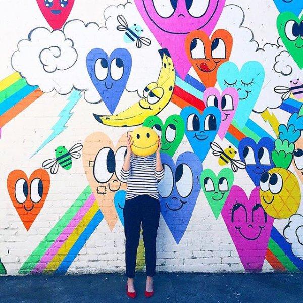 cartoon, art, mural, child art, illustration,
