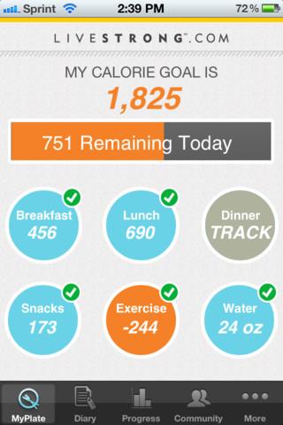 Calorie Tracker - LIVESTRONG.COM